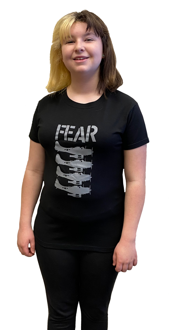 "FEAR - ""BEER BOMBERS"" BLACK T-SHIRT"