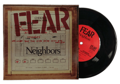 "FEAR & JOHN BELUSHI: NEIGHBORS 7"" SINGLE EP"