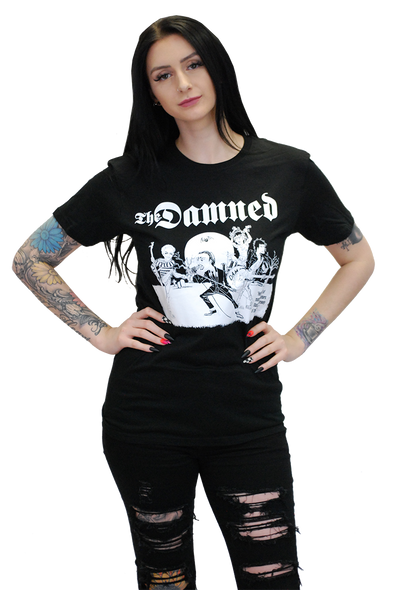 "DAMNED: ""CARTOON"" T-SHIRT"