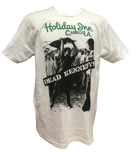 "DEAD KENNEDYS: ""HOLIDAY IN CAMBODIA"" T-SHIRT"