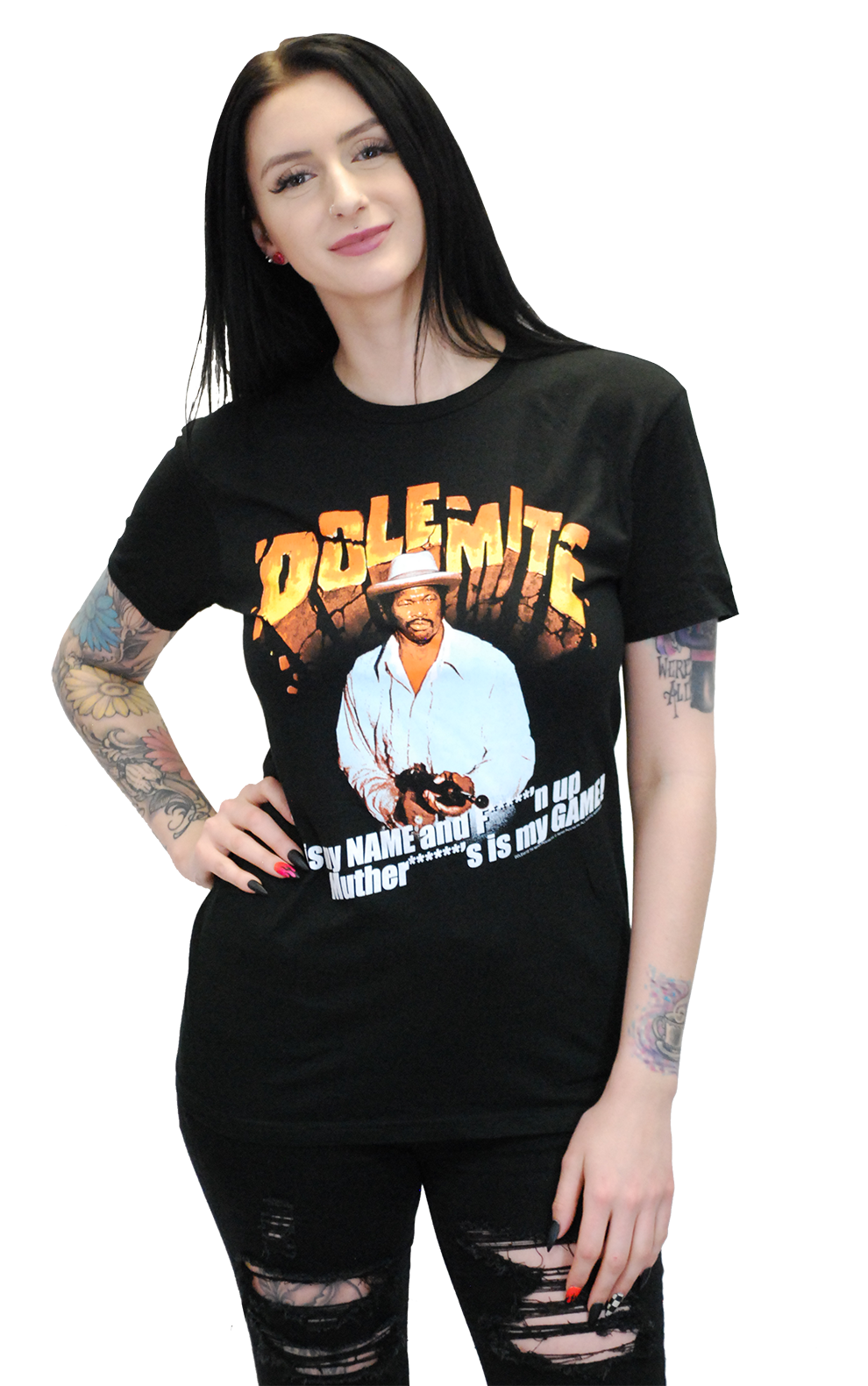 "RUDY RAY MOORE ""DOLEMITE IS MY NAME"" T-SHIRT"