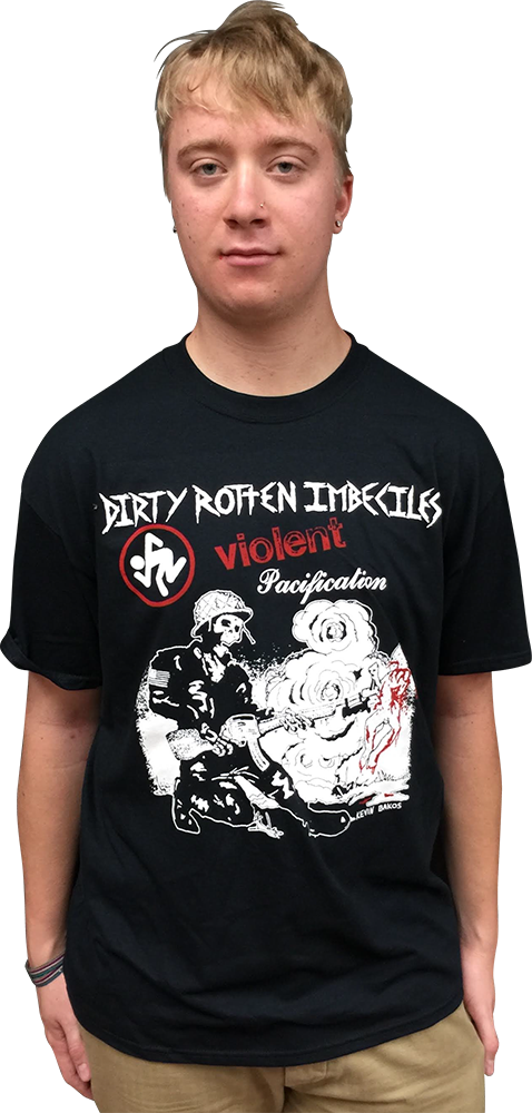 "D.R.I.: ""VIOLENT PACIFICATION"" T-SHIRT"