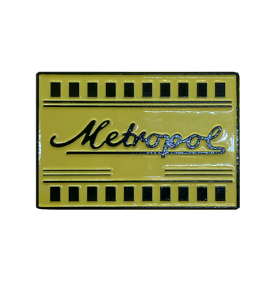 "LAMBERTO BAVA'S ""DEMONS"" OFFICIALLY LICENSED METROPOL TICKET ENAMEL PIN"