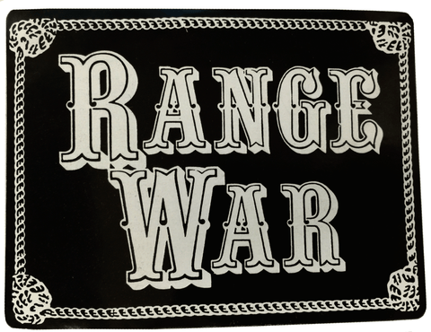 RANGE WAR: LOGO STICKER