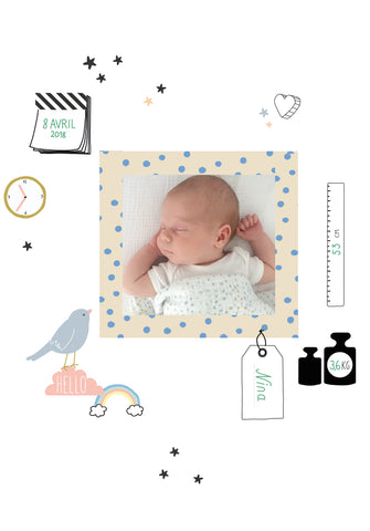 Wall Sticker, Baby Cards