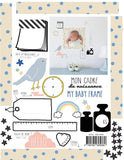 Baby cards wall sticker (English)