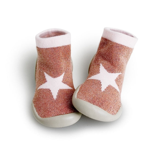 Pink Star Slippers