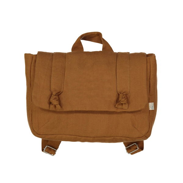 Old Fashioned Schoolbag, Hazelnut