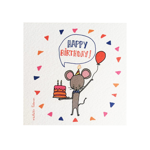 Birthday Cards, Mouse