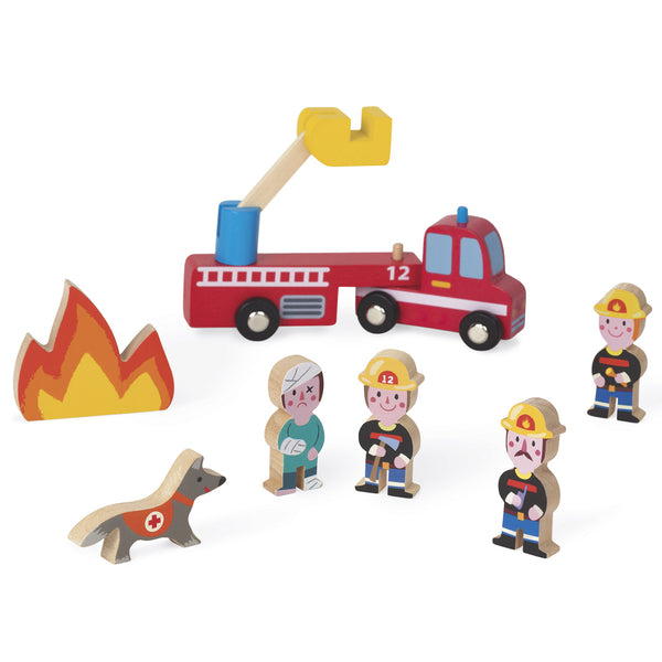 Mini Story Firefighters