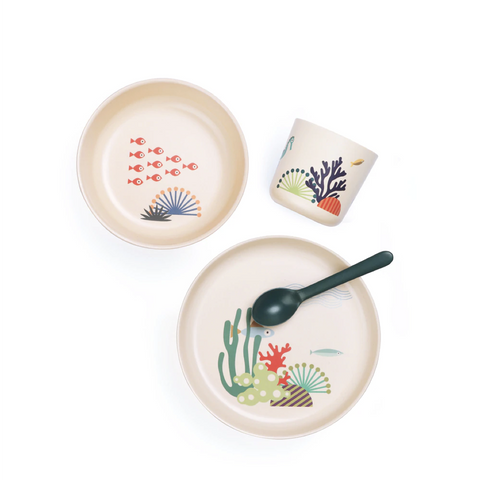 Bamboo Meal Set, Seas