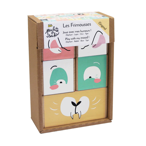 Animal Block Puzzle - Les Frimousses