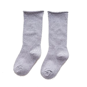 Lurex Socks Grey