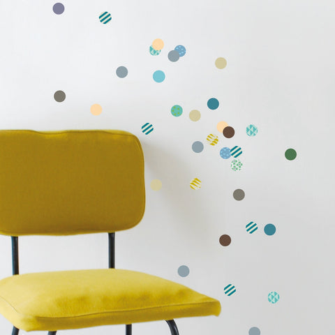 Dots wall sticker