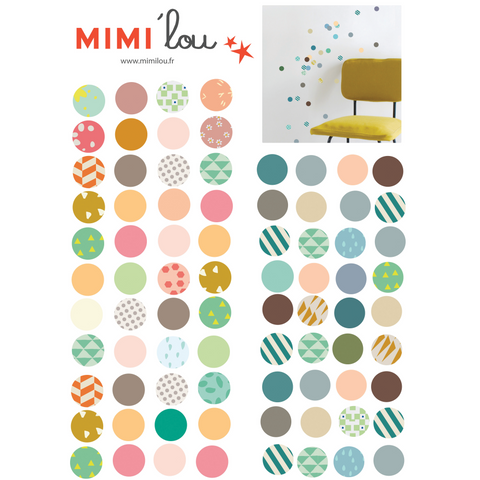 Wall Sticker, Dots