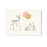 Card, Fawn  Rabbits