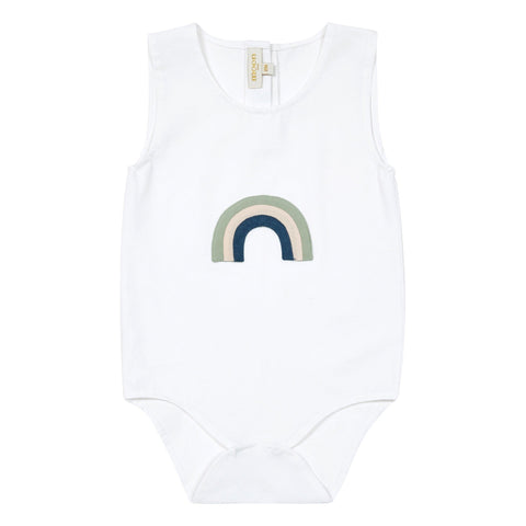 Onesie Sleeveless - Rainbow Patch