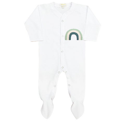 Long Sleeves Sleepsuit - Rainbow Patch