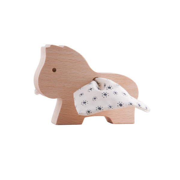 Wooden Pegasus, Small Flowers