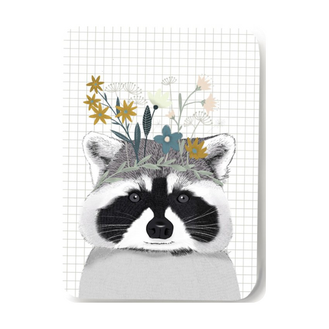 Card, Raccoon