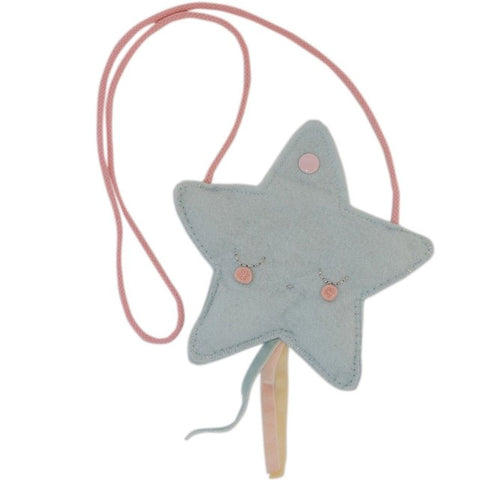 Sleeping Star Purse - Blue