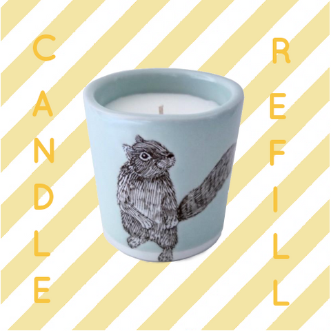 Candle Refill, Squirrel