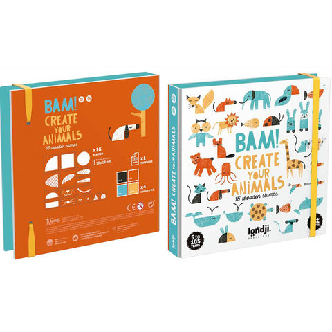 Bam! Stamps - Animals