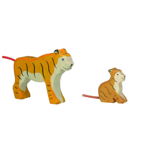 Wooden Tiger Set