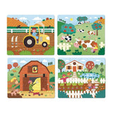 The Farm Puzzle - Set of 4