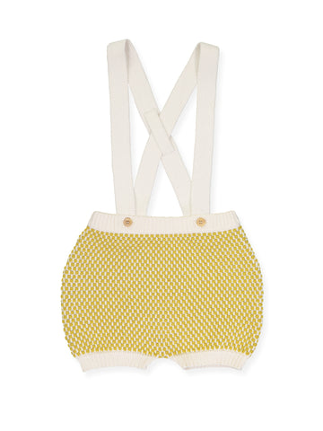 Knitted Overall, Yellow