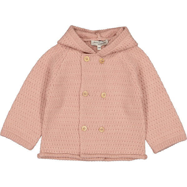 Knitted Jacket, Old Pink