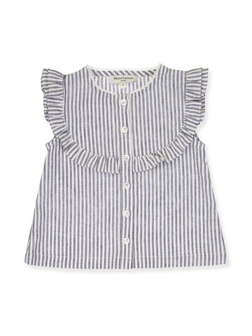 Blouse, Grey Stripes (Woman)