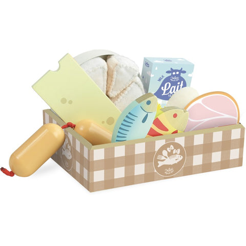 Fish, Ham and Cheese Set