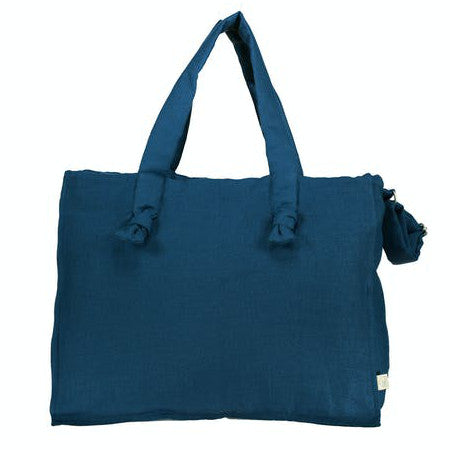 Diaper Bag, Petrol Blue