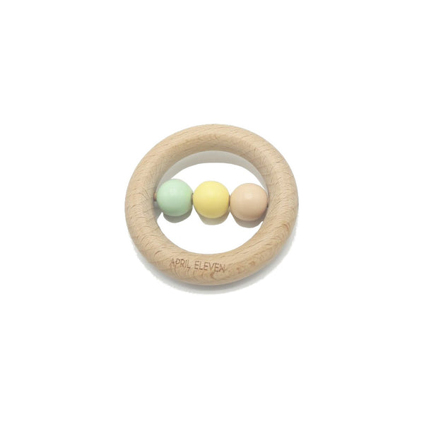 Wooden Rattle · Teether