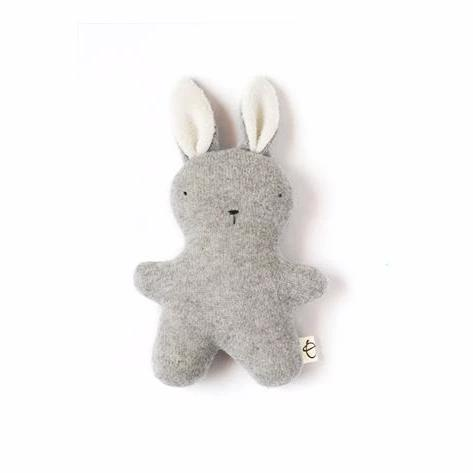 Little Grey Cashmere Bunny