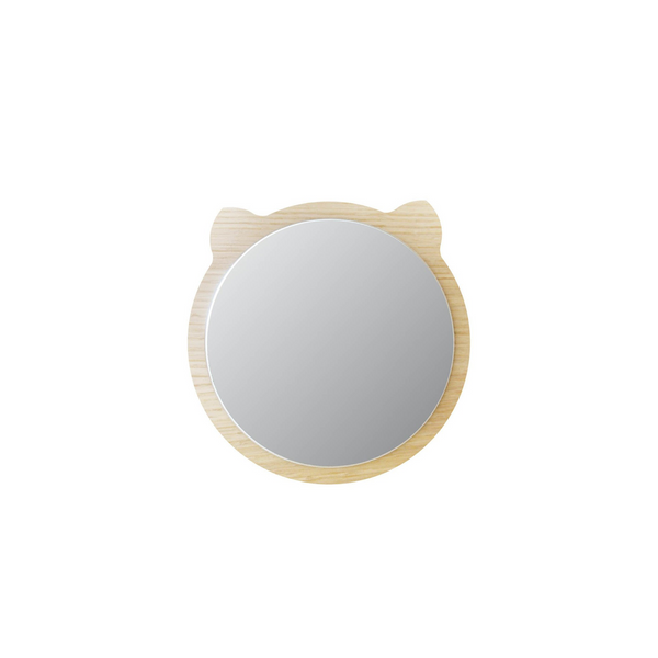 Bear Wooden Mirror, Mini