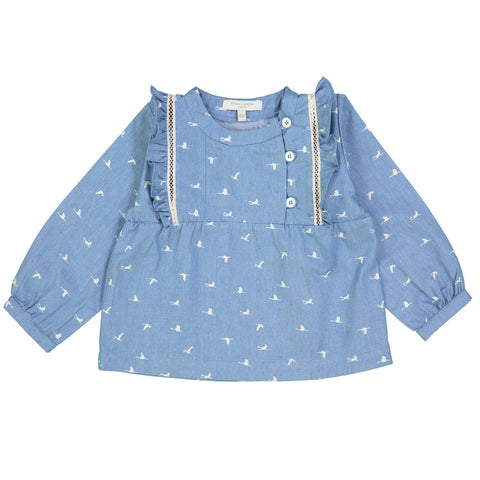 Blouse, Birds Denim