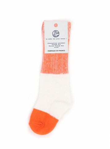 Orange Mix Socks
