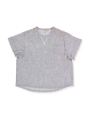Sebastien Shirt - Grey Stripes