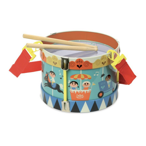Carousel Metal Drum
