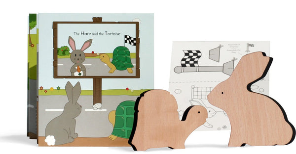 The Hare and the Tortoise, En / Fr