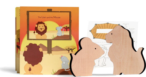 The Lion and the Mouse, En / Fr