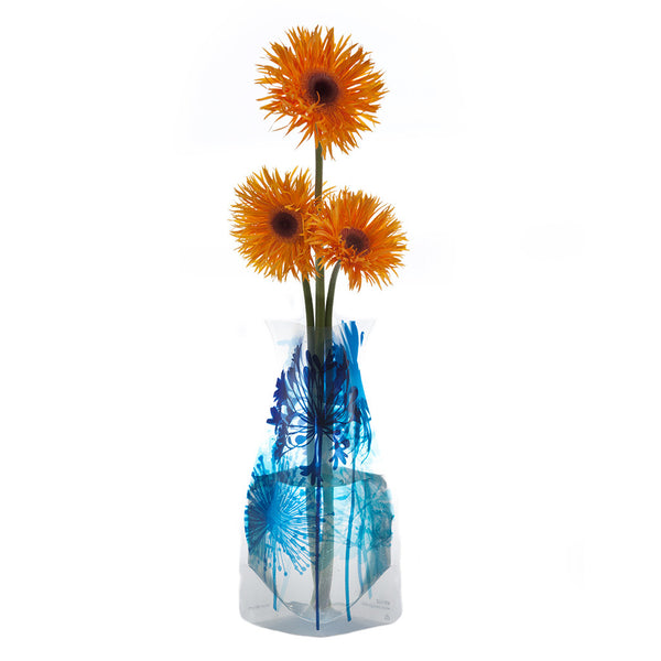 Bloom Bloom Blue Vase sold at Live Culinaire