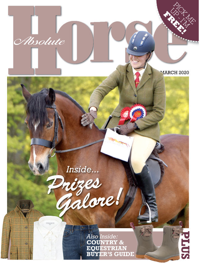 Absolute Horse Magazine cover