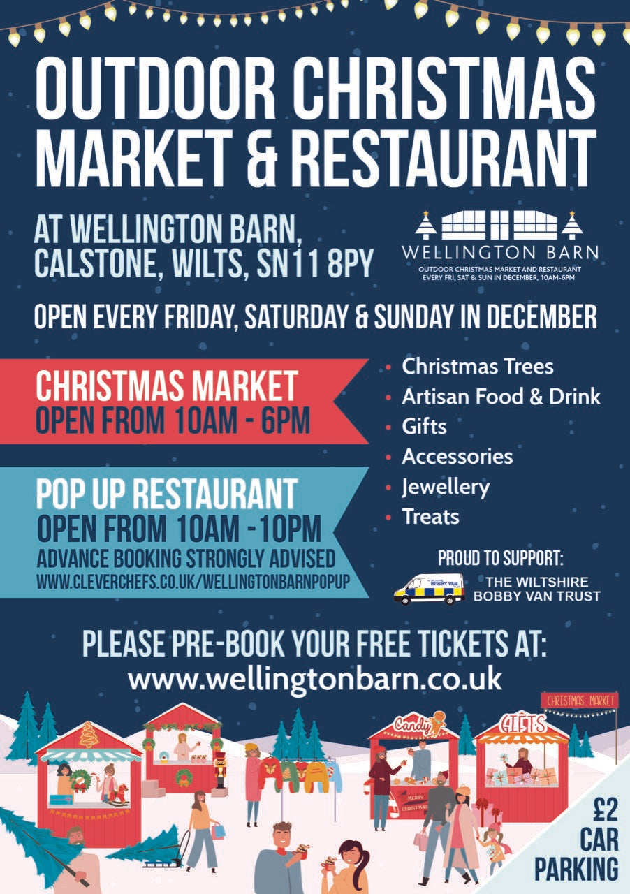 Wellington barn Outdoor Christmas market