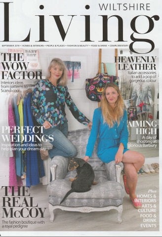Wiltshire Living Magazine front page
