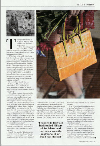 Wiltshire Living Magazine article
