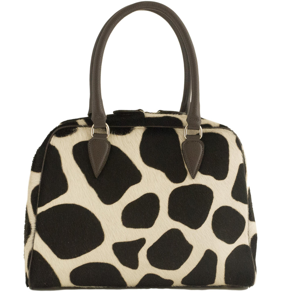 bowling bag dalmatian dark brown