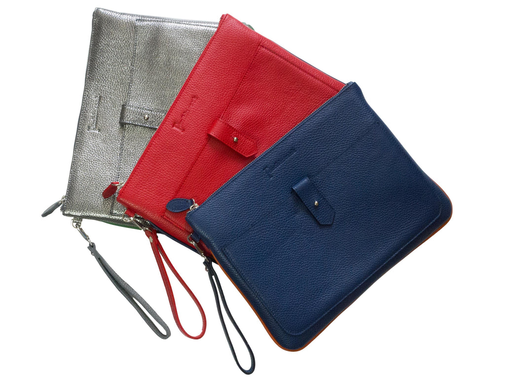 Padded Leather Tablet Sleeve